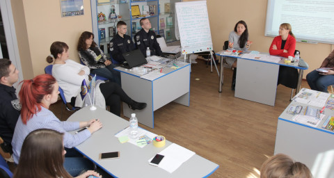 Приглашение к диалогу: Ольга Бабенко приняла участие в интерактивной игре для молодёжи