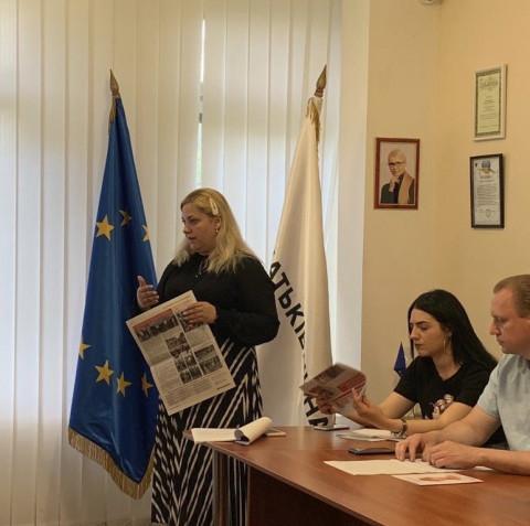 20 мая в общественной приемной Ольги Бабенко состоялась учеба актива.