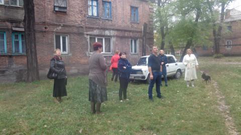 Комиссия осмотрела еще один дом в Ингулецком районе