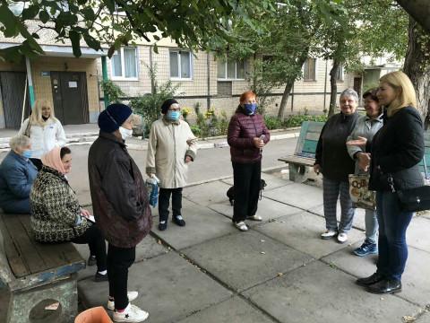Кандидаты в депутаты провели встречи в Металлургическом и Долгинцевском районах