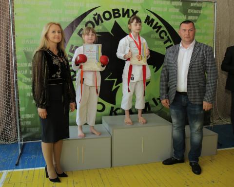 При поддержке Дмитрия Левченко проведено областное соревнование по карате