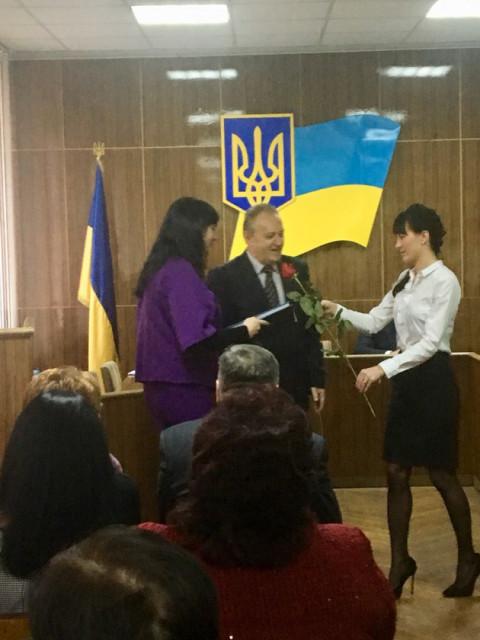 Депутат «ЗА РІДНЕ МІСТО» Наталья Ярковская  награждена Почетной грамотой