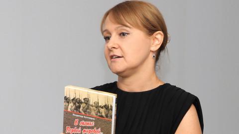 «Мы – рядом». - Ольга Бабенко на встрече с ветеранами