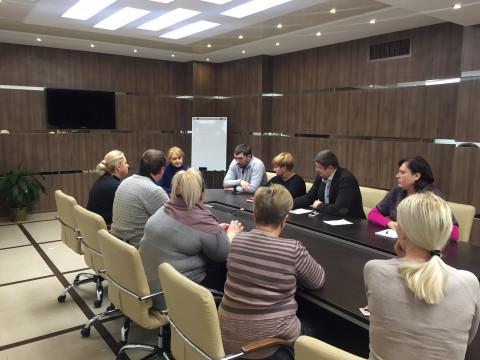 10 января состоялось совещание с руководителями районных организаций