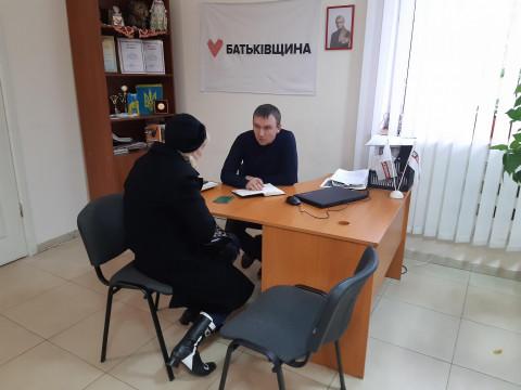 Дороги у дома – центральный вопрос приема депутата Вадима Годыны