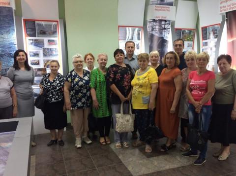 Активисты «ЗА РІДНЕ МІСТО» посетили музей ПАО «АрселорМиттал Кривой Рог»