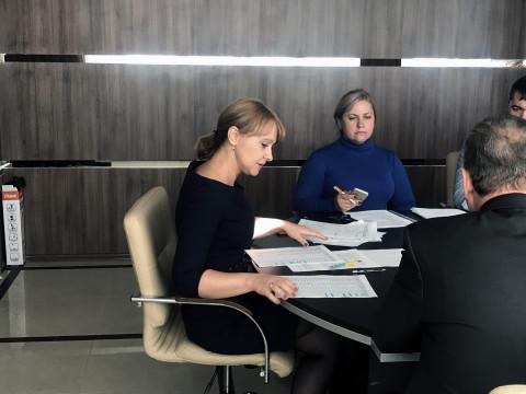 16 октября состоялось совещание с активом городской организации