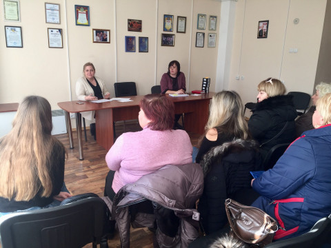 В общественной приёмной Ольги Бабенко состоялась встреча с активом городской организации ВО «Батьківщина»