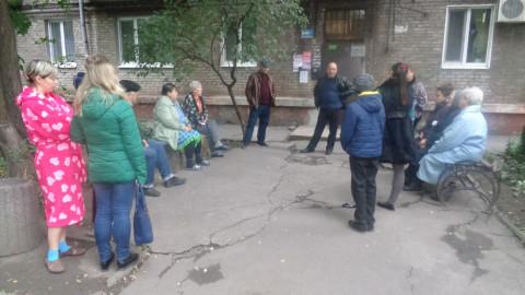 """Депутат """"ЗА РIДНЕ МIСТО"""" провёл выездную встречу по обращению ингульчан"""