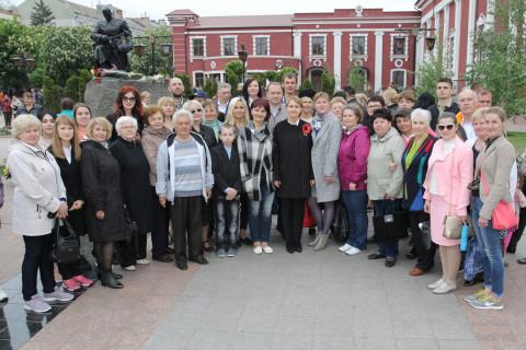 Честь и слава победителям. Ольга Бабенко – на Дне Победы в родном районе