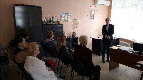 Активисты Саксаганской организации провели очередное собрание