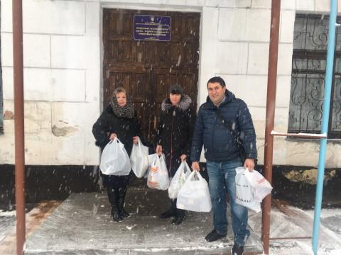 В школу-интернат доставлена гуманитарная помощь