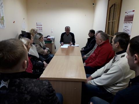 Руководители ПО Долгинцевского района   провели итоговую встречу