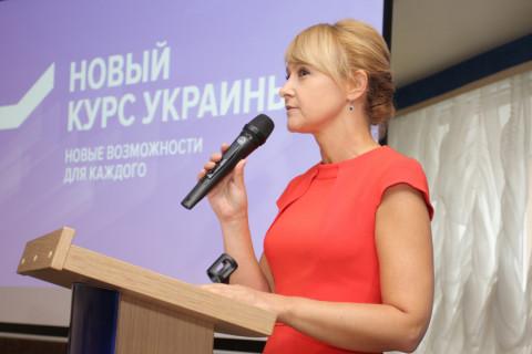 Ольга Бабенко провела встречу с активом городской организации ВО «Батьківщина»