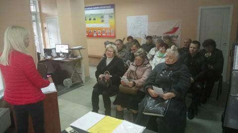 Активисты «ЗА РІДНЕ МІСТО» поблагодарили за ремонт подъезда