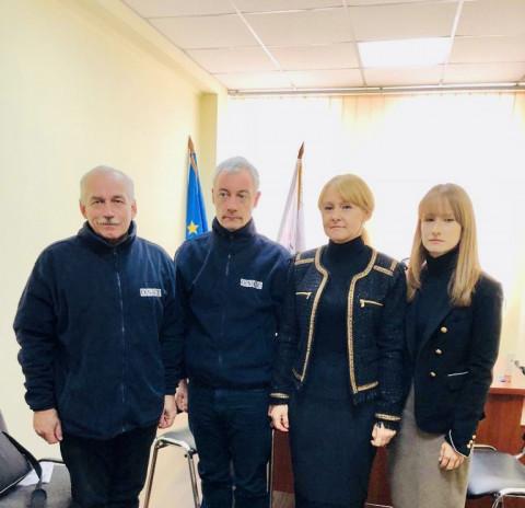 Ольга Бабенко встретилась с наблюдателями специальной мониторинговой миссии ОБСЕ