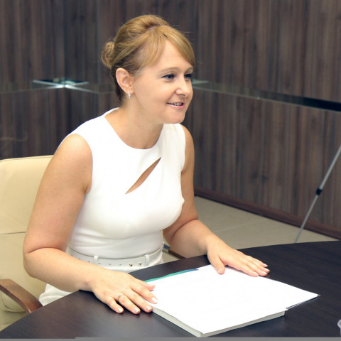 Торжественное и рабочее: Ольга Бабенко провела совещание с активом