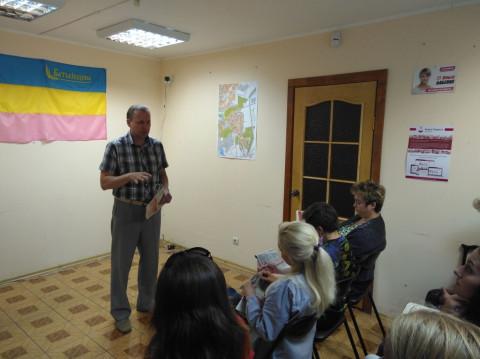Игорь Вовкозуб провел встречу с новыми членами организации ВО «Батьківщина»