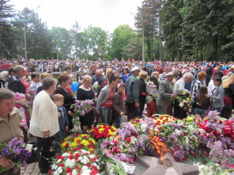 Вечная память героям Второй мировой, павшим в войне с нацизмом!