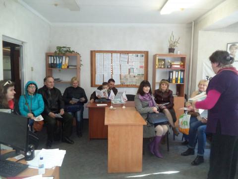 Активісти Тернівської організації ознайомилися з результатами роботи глави «ЗА РІДНЕ МІСТО»