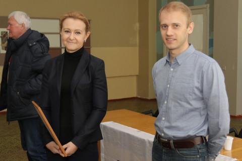Ольга Бабенко поддерживает шашечный спорт Кривбасса