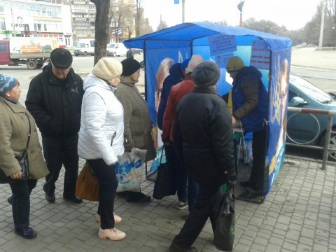 Открытые приемные депутатов снова работали на улицах Кривого Рога