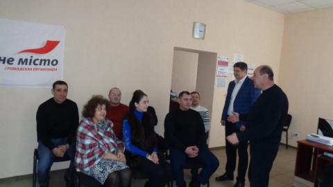 Новые активисты «ЗА РІДНЕ МІСТО» приняли активное участие в обсуждении методов работы с обращениями горожан
