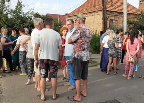 Зустріч з жителями вулиці Гризодубової