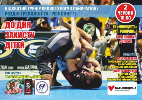Открытый турнир Кривого Рога по панкратиону в Покровском районе