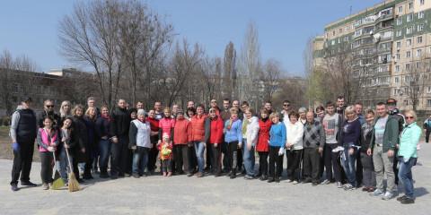 Ольга Бабенко: «Субботники – это проявление заботы и любви к родному городу»