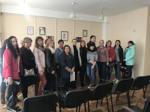 10 октября состоялся тренинг для активистов организации