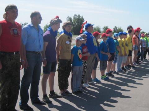 В Долгинцевском районе прошел фестиваль воздушных змеев