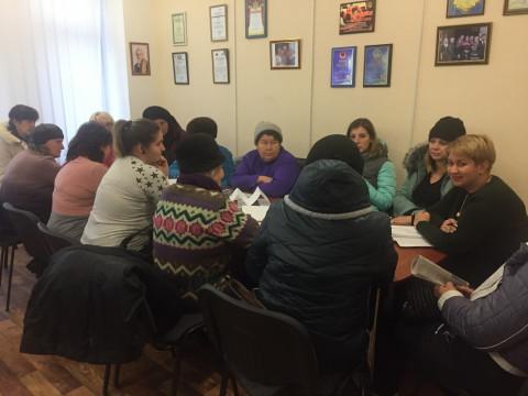 20 октября состоялся ряд тренингов для активистов организации