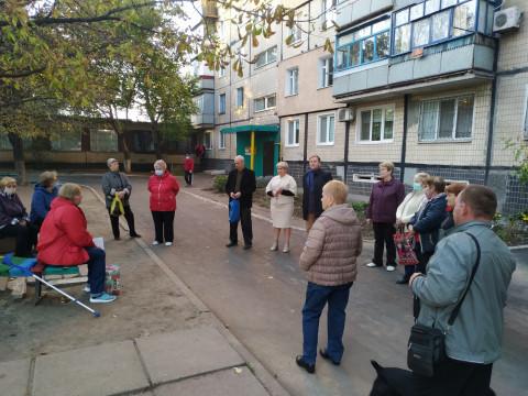 Встречи кандидатов в депутаты в Металлургическом и Терновском районах