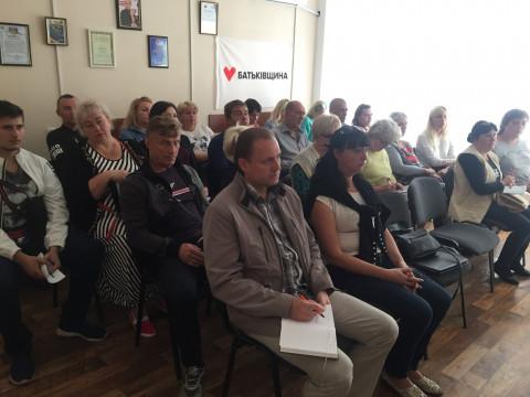 18 сентября состоялась учеба актива Криворожской городской организации ВО «Батьківщина»