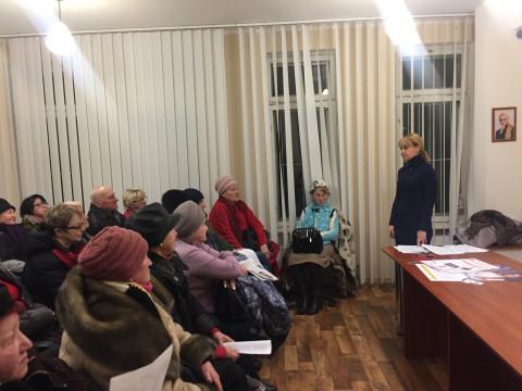 10 января состоялся ряд тренингов для активистов организации