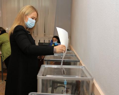 Ольга Бабенко про день голосування на місцевих виборах 2020
