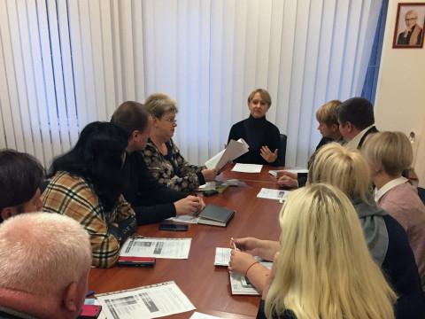 В общественной приемной Ольги Бабенко состоялось совещание