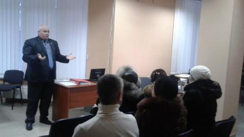 Активісти районної організації провели чергову зустріч