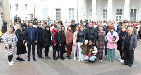 При поддержке Ольги Бабенко очередной раз проведен танцевальный фестиваль в Арт-площади Кривого Рога