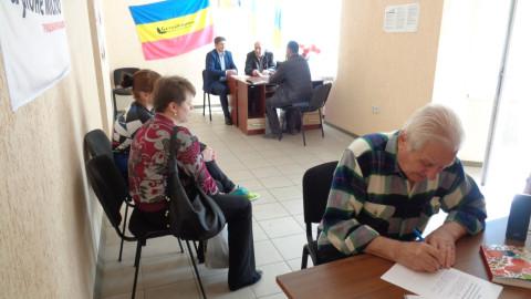 Представители «ЗА РІДНЕ МІСТО» рассмотрели вопросы благоустройства района