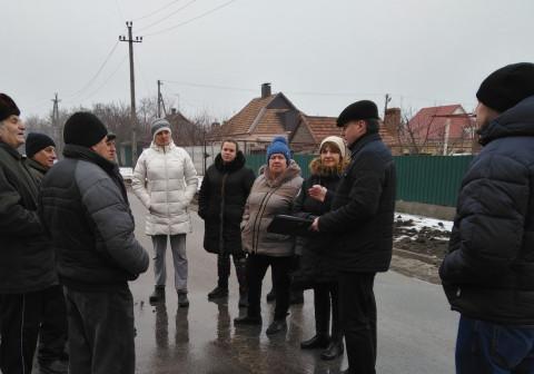 По улице Пржевальского прошла встреча Елены Шевченко с жителями
