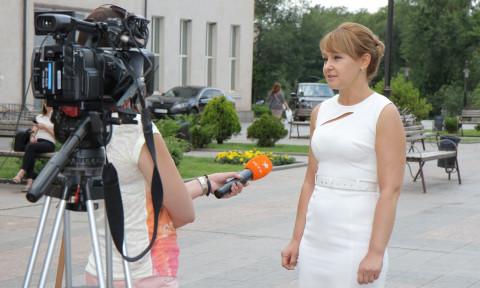 Ольга Бабенко на канале ICTV