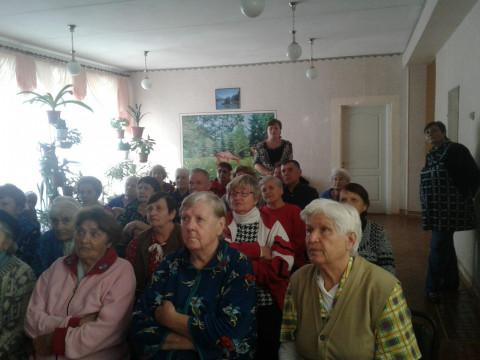 "Терновчане узнали о проекте Ольги Бабенко ""Книга памяти"""