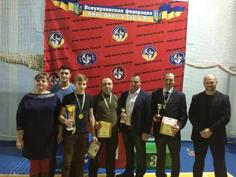Определились победители Всеукраинского турнира по Джиу-джитсу