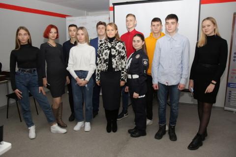 Ольга Бабенко приняла участие в собрании участников проекта «Лагерь мира Кривбасс-Донбасс Украина»