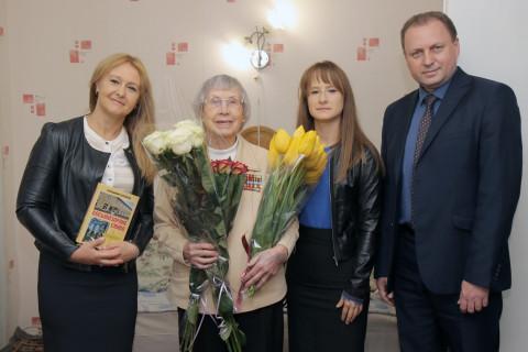 В День перемоги команда Ольги Бабенко відвідала учасницю бойових дій