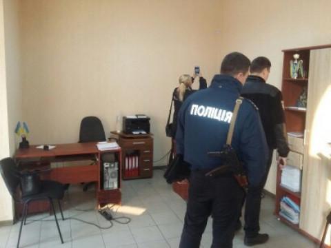 Циничное нападение на офис Ингулецкой районной организации ВО «Батьківщина»