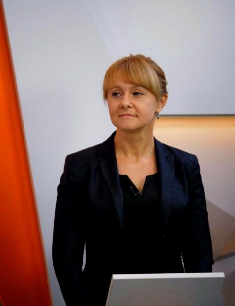 Ольга Бабенко в прямом эфире программы «Ракурс» на ТРК «Рудана» 26 ноября