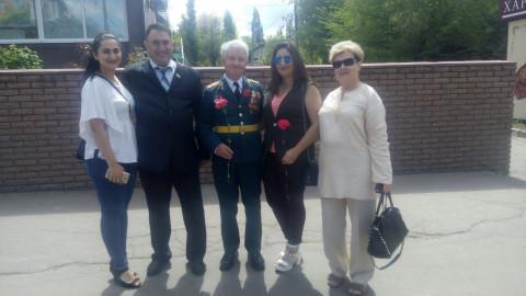 "Представители ""ЗА РIДНЕ МIСТО"" устроили для ветеранов праздничное чаепитие"